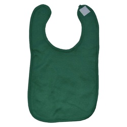 Green Personalized Baby Bib