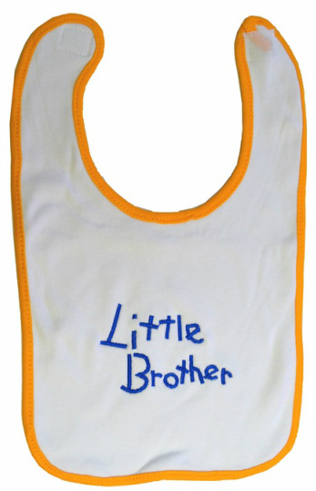 Little Brother Baby Bib